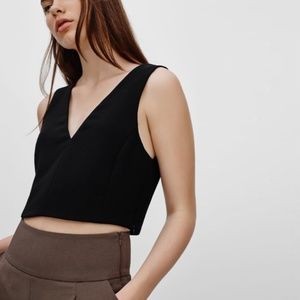 Wilfred Free Dauphine Cropped Tank Top